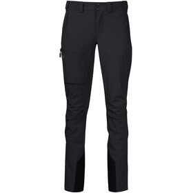 Bergans W's Breheimen Softshell Pants Black/Solid Charcoal